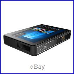 DLP 4K Home Smart Projector 6000Lumen Touch WiFi Win10 2/32GB Intel Cherry 32bit