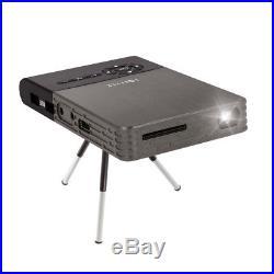 DLP-Projector Mini Beamer LED 1000Lm Akku Wi-Fi Anroid HDMI Bluetooth USB Büro