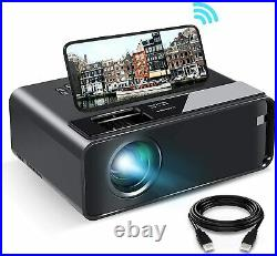 ELEPHAS 2020 WiFi Mini Projector with Synchronize Smartphone FREE UPS 24HRS
