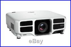 EPSON PRO L1100U 6000 Lumen 4K UHD WUXGA LASER PROJECTOR with lens 3yr warranty