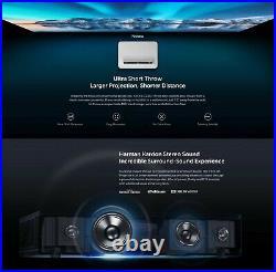EU Global Version Vava 4K Projector UST 6000 Lumens Ultra Short Throw