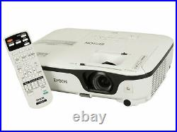 Eb-x12 Epson 3800 Lumens Home Cinema Hdmi Projector New Lamp 5000 Hours