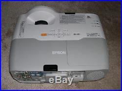Epson EB-420 HDMI USB ULTRA SHORT THROW LCD PROJECTOR Data/Video/HD-Ready. #1