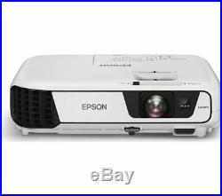 Epson EB-X41 3LCD HD Projector 3600 Lumens Contrast 150001 HDMI VGA USB LAN