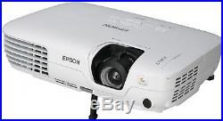 Epson EB-X9 HOME CINEMA PROJECTOR 2500 LUMENS NEW LAMP 5000 HOURS