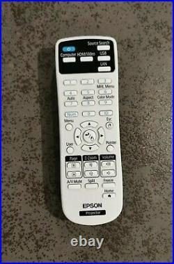 Epson EH-TW650 Full HD 1080p Projector White (New Slightly Used)