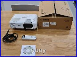 Epson EH-TW650 Full HD 1080p Projector White excellent condition