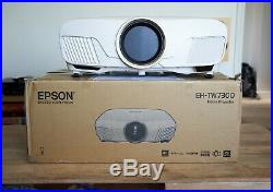 Epson EH-TW7300'4k' HDR LCD Projector. Very bright, ideal for living room use