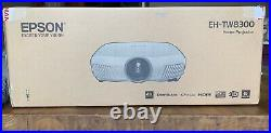 Epson EH-TW8300 4K Enhanced 2,500 lumens Projector only 1134h lamp use