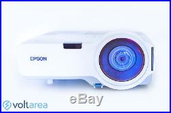 Epson H330A LCD Projector Ultra Short-Throw with remote and cables