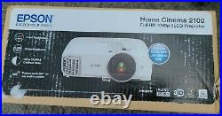 Epson Home Cinema 2100 3LCD Projector 1080p FULL HD BRAND NEW FREE SHIPPING GAME