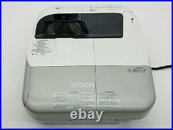 Epson PowerLite 480 XGA Ultra Short Throw 3LCD Projector 3000-Lumens withRemote