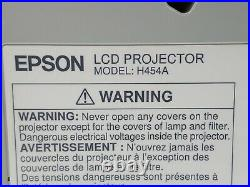 Epson PowerLite 485W 3LCD WXGA UST Ultra Short Throw Projector 3100 Lumens 999hr