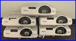Epson PowerLite 535W WXGA 3LCD Projector Great Working Condition