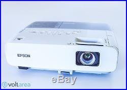 Epson PowerLite 84 LCD Projector HD Fully Functional withremote Voltarea USA