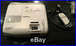 Epson PowerLite 965H Tri-LCD Projector 965H 3500 Lumen Projector WITH REMOTE