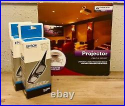 Epson PowerLite Home Cinema Full HD 5020UB 3D 1080p 3LCD Projector with Extras