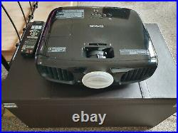 Epson TW6100 3D 1080 Full HD Projector Used