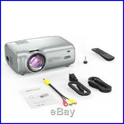 Excelvan 6000 Lumens 1080P 3D 4K Wifi Home Theater Projector Android 8G HDMI USB
