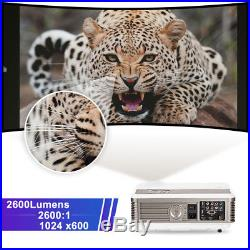 HD LCD Home Theater Projector Android WiFi Bluetooth Backyard Movie HDMI USB UK