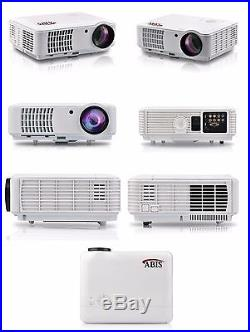 HD6000 Plus Home & Gaming LED Smart Android Projector White