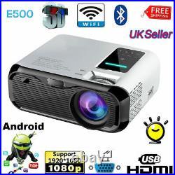 HOT Smart 2020 Full HD 1080P Mini LED Projector Home Theater Cinema USB HDMI AV