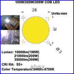 High CRI 95+ Ultra Brightness 100With200With300W COB LED DIY Home Cinema Projector