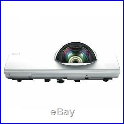 Hitachi Cp-cx300wn Ultra Short Throw 3100 Lumens LCD Projector New Lamp Hdmi
