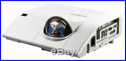 Hitachi Usb Hdmi Ultra Short Throw Hdmi 2700 Lumens Projector New Lamp 5000 Hrs