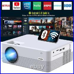 Intelligenter Projektor, Android WiFi Bluetooth Projektor, Mini Wireless Projektor