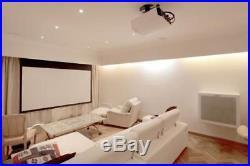 JVC DLA X3 1080p 3D Projector + 4 Active 3D Glasses & White Screen Bundle