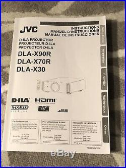 JVC DLA-X70R Home Cinema Projector THX 3D ISF, 4K eShift Technology D-ILA