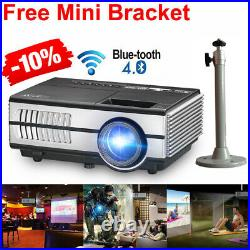 LED 3000lms Android Projector Full HD Smart Home Cinema Blue tooth Airplay HDMI