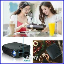 LED 8500lumens Projector HD Movie True Native 1080p Daytime Office HDMI USB Zoom