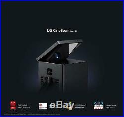LG HU80KA 4K UHD Laser Smart Home Theater CineBeam Projector 150 HDR10 Free UPS