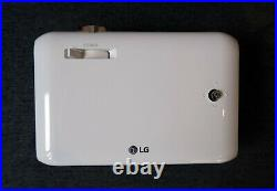 LG MiniBeam PH550G Portable LED Projector White