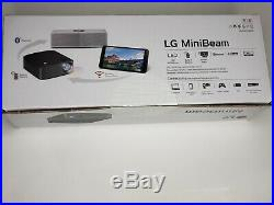 LG Minibeam Projector hd bluetooth led