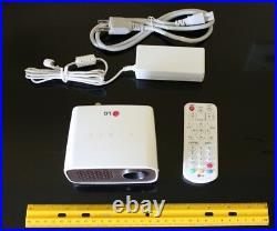 LG PH300 HD MiniBeam Portable DLP LED Projector Built-In DTV Tuner for Live TV