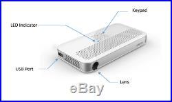 Laser Beam Pro C200 Class 1 Laser Projector, Bluetooth Wi-fi HDMI Fedex Ship