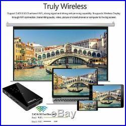 Mini 3000Lumens DLP Android Wifi Home Theater Projector HD 1080P Cinema HDMI In
