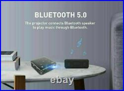 Mini 4000 Lumens HD 1080P DLP Android Home Theater Projector 4K Wifi HDMI USB SD
