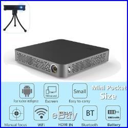 Mini 5500Lumens DLP Android Wifi Full HD 1080p Smart Video Projector HDMI/USB US