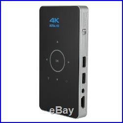 Mini Android 6.0 Portable Smart DLP Projector 8GB Wifi Bluetooth 4K 1080P HDMI