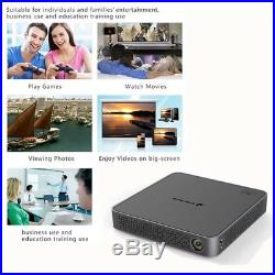 Mini DLP 4K Wifi 1080P Android Home Theater Cinema 5500LM 3D Portable Projector