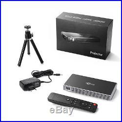 Mini DLP Projektor Beamer Android Wifi 1080P HD Heimkino Projector Bluetooth