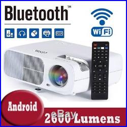 Mini LCD LED Projector Home Theater Cinema HD 1080P 3D HDMI SD USB VGA UK FL