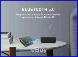 Mini Pocket 4000 Lumens DLP Android HD 1080P Home Cinema Projector WIFI HDMI USB