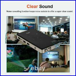 Mini Pocket 7000 Lumens DLP Wifi Home Theater Projector HD 1080P Cinema HDMI USB