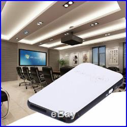 Mini Pocket Projector 1080P HD P1 DLP WiFi LED bluetooth Home Cinema UK