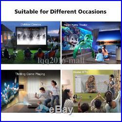 Mini Pocket Projector Android DLP 3D HD WiFi HDMI Bluetooth Home Theatre Cinema